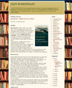 Boekenkast Jannie Trouwborst
